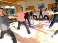 Yoga im Yoga-Wintergarten 2012