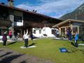 Yoga im Garten des Fohlenhof Nov11