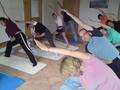 Yoga im Yoga-Wintergarten 2010